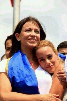 """Necesitamos millones de Hombres con la Valentia y Pasión Libertaria de estas dos MUJERES!  María CORINA y LILIAN.. pic.twitter.com/XatB3UTC1B"""""""