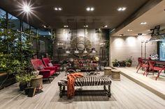 Novoceram 'Fabuloft' booth at Cersaie 2015 by Francesco Catalano, Bologna – Italy » Retail Design Blog