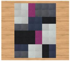 #FLOR #carpet #square #design I just ordered for our bedroom. Hope it turns out sexy in person!