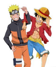 Juegos y Animes: Eiichiro Oda se despide de #Naruto en el capítulo 766 del #Manga de #OnePiece