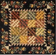 dOWVru ~ This quilt reminds me of Kim Diehl...