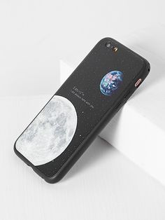 889028e3cd Shop Black Moon Pattern iPhone 6 Plus Case online. SheIn offers Black Moon Pattern  iPhone 6 Plus Case & more to fit your fashionable needs.