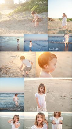 Beach photography © jennifer dell photography