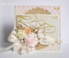 bligu - a bit of gold in shabby style ;)