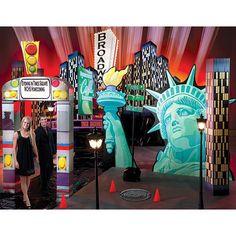 Times Square Theme Decorating Kit