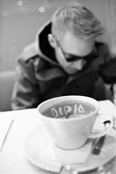 Diplo. Caffeine. Yes!