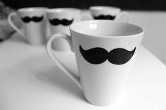 DIY Moustache Mug – Moustache, Mugs, Tableware, Diy, Crates, Mustache, Dinnerware, Bricolage, Tumblers