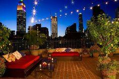 How about sleeping under the stars in NYC…?   GeorgiaPapadon