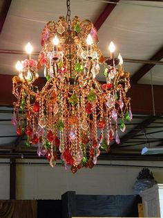 Chandelier french quarter new orleans red blue gold green multi grand large milano multi color crystal chandelier 12 lights traditional aloadofball Images