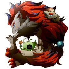 Day Zorua, Bc i like wolves Pokemon Pins, New Pokemon, Pokemon Cards, Pokemon Images, Pokemon Zoroark, Otaku, Chibi, Cute Pokemon Wallpaper, Pokemon Special