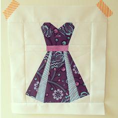 Paper Pieced Dress
