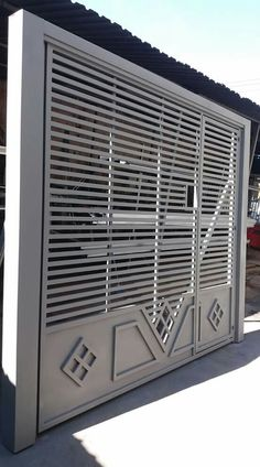 Design modern gate 45 Ideas for 2019 Home Window Grill Design, Grill Gate Design, Balcony Grill Design, Front Gate Design, Steel Gate Design, House Gate Design, Main Gate Design, Door Gate Design, Stainless Steel Gate