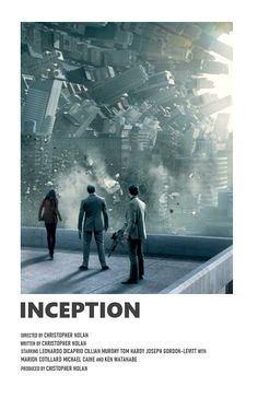 inception Iconic Movie Posters, Minimal Movie Posters, Minimal Poster, Movie Poster Art, Iconic Movies, Film Posters, Film Polaroid, Polaroids, Movie Prints