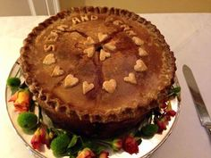 One of our pies went to a wedding today. Much love to Sean and Dean.