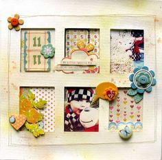 scrapbook layout embellishments#Repin By:Pinterest++ for iPad#