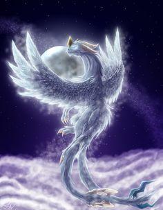 Moon Goddess by Skytalon16 on deviantART Dragon artwork fantasy Dragon pictures Dragon artwork