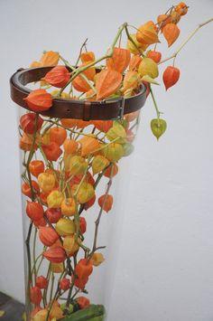 cz: Autumn in bright orange Glass Vase, Planter Pots, Bright, Autumn, Orange, Garden, Flowers, Home Decor, Garten