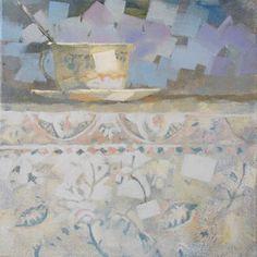 """Cup,"" original figurative painting by artist Gerrie van Tonder (South Africa) available at Saatchi Art #SaatchiArt"