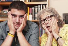 Don't Turn Off Your Teen Grandchildren: A sense of humor will go a long with moody teens.