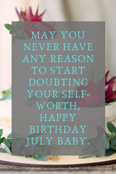 Happy Birthday Wishes for July Born with Quotes and Images Happy Birthday Sarah, Happy Birthday Photos, Happy Birthday Wishes, July Born, Birthday Quotes, Greeting Cards, Happy Bday Wishes, Anniversary Quotes, Happy Birthday Greetings