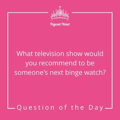We are halfway through the week! Here is your Answer as you would in interview for a chance to be… Beauty Pageant Questions, Pageant Interview Questions, Pageant Tips, Beauty Queen Tips, Beauty Queens, Question Of The Day, This Or That Questions, Miss Arkansas, My Little Beauty