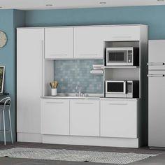 Cozinha Compacta Kappesberg Unique 4 Peças. Venda em Ponto Frio. Obs. Gavetas