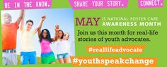 Real Stories about foster young adults. #youthspeakchange #reallifeadvocate