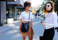 Ari Westphal with Céline bag