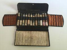 Antique Victorian Wyeth Bros. Doctor Pharmaceutical Preparations Set 12 Vials | eBay