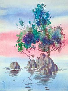 KARMA DREAM. Watercolor. 208 PINS October 14, 2014