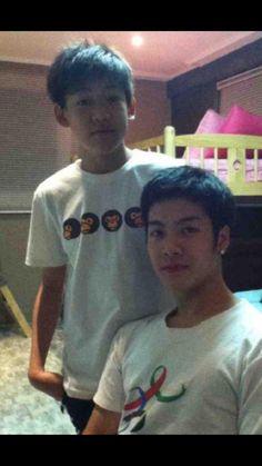 Meet fetus Wang and fetus BamBam - Got7