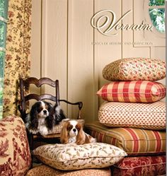 I'm lovin' Charles Faudree's line of fabric for Vervain.  I'm needing  wanting to update some drapes and upholstery in different parts o...