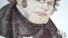 string art - Franz Peter Schubert - Portrait - Porträt
