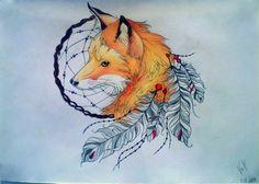 Dream Fox by VoX-draw