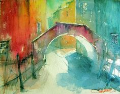Christian Couteau watercolors