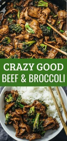 This beef and broccoli recipe is CRAZY GOOD. It's so easy and quick to make this authentic Chinese stir fry using flank steak seared on a skillet or wok. The sauce is simple to make and not spicy -- all you need are soy sauce, brown sugar, and corn starch Beef And Brocolli, Easy Beef And Broccoli, Beef Broccoli Stir Fry, Chinese Beef And Broccoli, Panda Express Broccoli Beef Recipe, Recipe For Beef With Broccoli, Authentic Beef And Broccoli Recipe, Beef And Veggie Stir Fry Recipe, Simple Broccoli Recipes