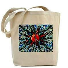 Peace Sun 2014 (c) Tote Bag> Totes, Accessories, Accoutrements and Such> Flawn Ocho