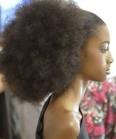 Fro of champions. To learn how to grow your hair longer click here - http://blackhair.cc/1jSY2ux