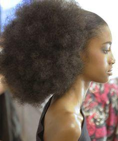 #OfficiallyNatural #NaturalHair #AfroPuff