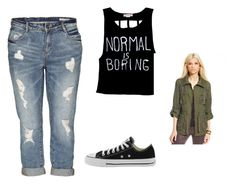 """""""Ever day Clary Fray outfit"""" by i-am-divergent-46 ❤ liked on Polyvore featuring Bar III, Converse and themortalinstruments Clary Fray Outfit, Normal Is Boring, Casual Outfits, Cute Outfits, Shadow Hunters, Mortal Instruments, Divergent, Everyday Fashion, Converse"""