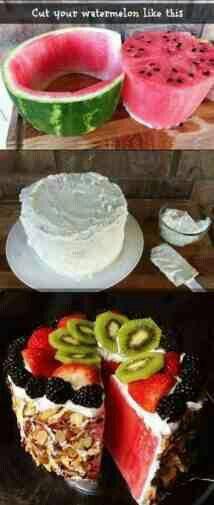 Torta de sandia