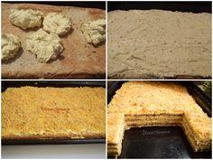 Prăjitura Krantz. O prăjitură cu nuci caramelizate! - Rețete Merișor Cakes, Pastries, Torte, Cookies, Animal Print Cakes, Layer Cakes, Cake
