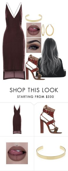 """Untitled #2022"" by daisytrain ❤ liked on Polyvore featuring Dion Lee, Etro, Jeffree Star, Jennifer Fisher and Fragments"