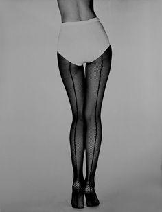 "hauntedbystorytelling: ""Fernand Fonssagrives :: Stretching Mesh [for Hanes], 1958 """