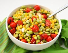 Edamame gives salad a serious boost of protein. Get the recipe from Pip and Ebby.