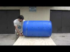 How To Build A Tumbling Composter -