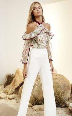 74763d426c45 89 mejores imágenes de Blusas AC | Tunic, Fashion blouses y Blouse