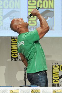 Dwayne Johnson - All the Celebrities at San Diego Comic-Con - Zimbio