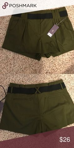 Nice green short by jlo Brand new size 12 JL Shorts Jean Shorts