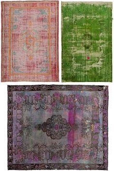 Antique turkish rugs.